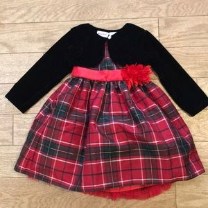 Toddler Girl Plaid Dress ❤️ NWT